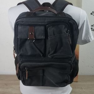 BACKPACKS UNISEX COLOR GRAY/BRONW.